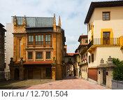 Купить «old part of Oviedo.», фото № 12701504, снято 18 июня 2019 г. (c) Яков Филимонов / Фотобанк Лори