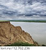 Обь-река. Стоковое фото, фотограф Виктор Четошников / Фотобанк Лори