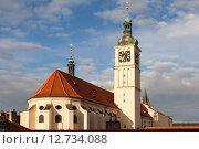 Купить «Костёл Святого Якуба (Иакова) в Старом городе. Прага. Чехия.», фото № 12734088, снято 7 сентября 2015 г. (c) Сергей Афанасьев / Фотобанк Лори