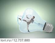 Купить «Inside light bulb», фото № 12737880, снято 5 апреля 2020 г. (c) Sergey Nivens / Фотобанк Лори