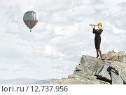 Купить «Searching for perspectives», фото № 12737956, снято 18 марта 2014 г. (c) Sergey Nivens / Фотобанк Лори
