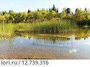 Сибирская река. Стоковое фото, фотограф Владимир Мигонькин / Фотобанк Лори
