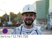 Купить «Bottrop, Germany, visits a visitor colliery tour shortly after the exit in the active mine Prosper-Haniel», фото № 12741720, снято 13 октября 2014 г. (c) Caro Photoagency / Фотобанк Лори
