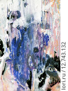 Купить «Разводы краски на картине», фото № 12743132, снято 12 ноября 2014 г. (c) Elizaveta Kharicheva / Фотобанк Лори