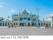 Купить «Рижский вокзал. Москва», эксклюзивное фото № 12747976, снято 8 августа 2015 г. (c) Владимир Князев / Фотобанк Лори