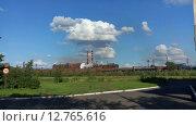 Купить «Металлургический завод в Нижнем Тагиле, НТМК», видеоролик № 12765616, снято 12 сентября 2015 г. (c) Кекяляйнен Андрей / Фотобанк Лори