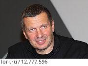 Российский журналист Владимир Соловьев (2015 год). Редакционное фото, фотограф Сергей Соболев / Фотобанк Лори
