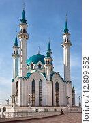 Купить «Мечеть Кул Шариф в Казанском Кремле», фото № 12809352, снято 26 сентября 2015 г. (c) Victoria Demidova / Фотобанк Лори