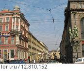 Малая Садовая улица, Санкт-Петербург (2010 год). Редакционное фото, фотограф Anna Berglef / Фотобанк Лори