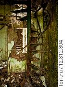 Интерьер заброшенного жилища. Стоковое фото, фотограф Anya Stogova / Фотобанк Лори
