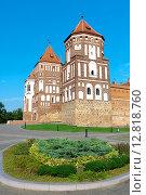 Купить «Республика Беларусь, Мирский замок», фото № 12818760, снято 23 сентября 2015 г. (c) Ласточкин Евгений / Фотобанк Лори