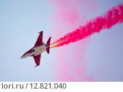 12-й Международный авиационно-космический салон `МАКС 2015`. Открытие. На снимке: самолет Як-130. Редакционное фото, фотограф Matwey / Фотобанк Лори