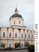 Церковь на Ленина в Томске, Богоявленский Кафедральный собор (2015 год). Редакционное фото, фотограф Amir Navrutdinov / Фотобанк Лори