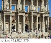 Библиотека в древнегреческом городе Эфесе (2015 год). Редакционное фото, фотограф Елена Утенкова / Фотобанк Лори