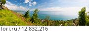 Купить «Вид на море, Новый Афон. Абхазия», фото № 12832216, снято 3 мая 2015 г. (c) Михаил Кочиев / Фотобанк Лори