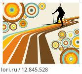 Купить «biathlon athlete», иллюстрация № 12845528 (c) PantherMedia / Фотобанк Лори