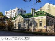 Купить «Особняк Сазоновых в Уфе», фото № 12850328, снято 22 сентября 2015 г. (c) Коротнев / Фотобанк Лори