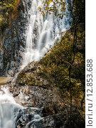 Водопад в джунглях. Стоковое фото, фотограф fjodorov vladimir / Фотобанк Лори