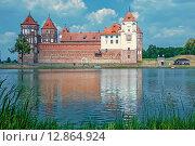 Мирский замок, Беларусь. Стоковое фото, фотограф A_ksenya / Фотобанк Лори