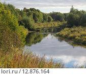 Река Нерль. Стоковое фото, фотограф Косоуров Юрий / Фотобанк Лори