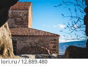 Купить «Ancient Orthodox Church in antique cave city Uplistsikhe, Georgia», фото № 12889480, снято 18 августа 2019 г. (c) PantherMedia / Фотобанк Лори