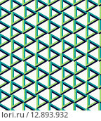 Купить «Isometric unreal triangle pattern background», иллюстрация № 12893932 (c) PantherMedia / Фотобанк Лори