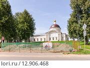 Купить «Никольский собор в Мышкине», эксклюзивное фото № 12906468, снято 7 августа 2015 г. (c) Алёшина Оксана / Фотобанк Лори