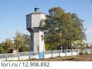 Купить «Владимирская область, город Киржач, водонапорная башня», фото № 12908892, снято 13 октября 2015 г. (c) Павел Москаленко / Фотобанк Лори