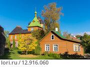 Купить «Успенский женский монастырь. Куремяэ. Эстония», фото № 12916060, снято 27 сентября 2015 г. (c) Andrei Nekrassov / Фотобанк Лори