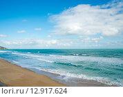 Морской пейзаж осенью. Стоковое фото, фотограф Кононенко Александр / Фотобанк Лори