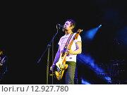 """Группа """"7Раса"""". Александр Растич (2015 год). Редакционное фото, фотограф Иван Маркуль / Фотобанк Лори"""