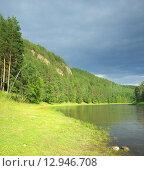 Купить «Река Ай», фото № 12946708, снято 20 июля 2015 г. (c) Игорь Потапов / Фотобанк Лори