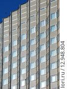 Купить «Фасад здания гостиницы «Золотое Кольцо». Смоленская улица, 5. Москва», эксклюзивное фото № 12948804, снято 27 февраля 2010 г. (c) lana1501 / Фотобанк Лори