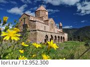 Купить «Священный монастырь Одзун в Армении. 5-7 век», фото № 12952300, снято 15 октября 2015 г. (c) Евгений Суворов / Фотобанк Лори