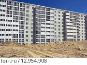 Строительство многоэтажного здания. Стоковое фото, фотограф Игорь Яковлев / Фотобанк Лори