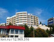 """Отель """"Barton Park"""". Алушта, Крым (2015 год). Редакционное фото, фотограф Александр Щепин / Фотобанк Лори"""