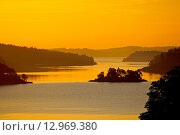 Фарерские острова. Восход солнца. Стоковое фото, фотограф Валерий Аноприенко / Фотобанк Лори