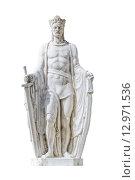 Купить «Statue of Ludovicus Magnus in the City of Szekesfehervar, Hungary», фото № 12971536, снято 27 марта 2019 г. (c) PantherMedia / Фотобанк Лори
