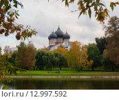 Осень в Измайловском парке (2015 год). Редакционное фото, фотограф Сергей Макаров / Фотобанк Лори