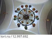 Купить «Паникадило церкви Троицы Живоначальной в Бёхово Заокского района Тульской области», эксклюзивное фото № 12997692, снято 21 мая 2010 г. (c) lana1501 / Фотобанк Лори