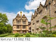 Купить «Тринити-колледж, Оксфордский университет, Оксфорд, Англия, Великобритания», фото № 13002192, снято 19 июня 2013 г. (c) Andrei Nekrassov / Фотобанк Лори