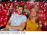 Купить «happy couple watching movie in theater», фото № 13031176, снято 19 января 2015 г. (c) Syda Productions / Фотобанк Лори