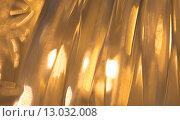 Купить «lights reflection on golden metallic background», фото № 13032008, снято 12 октября 2015 г. (c) Syda Productions / Фотобанк Лори