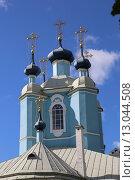 Сампсониевский собор в Санкт-Петербурге (2015 год). Стоковое фото, фотограф Александр Секретарев / Фотобанк Лори