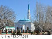 Белая мечеть. Павлодар, Казахстан. Стоковое фото, фотограф Рута Применко / Фотобанк Лори