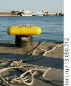 Купить «Причал. Морской порт в Ялте», эксклюзивное фото № 13050712, снято 22 июня 2018 г. (c) Михаил Карташов / Фотобанк Лори