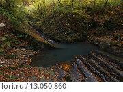 Змейковские водопады. Стоковое фото, фотограф Алексей Белоконенко / Фотобанк Лори