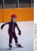 Купить «children speed skating», фото № 13054012, снято 25 мая 2019 г. (c) PantherMedia / Фотобанк Лори