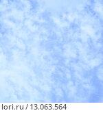 Купить «Light blue sky with clouds», фото № 13063564, снято 9 июля 2015 г. (c) Роман Сигаев / Фотобанк Лори