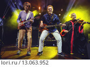 Эмир Кустурица и The No Smoking Orchestra (2015 год). Редакционное фото, фотограф Иван Маркуль / Фотобанк Лори